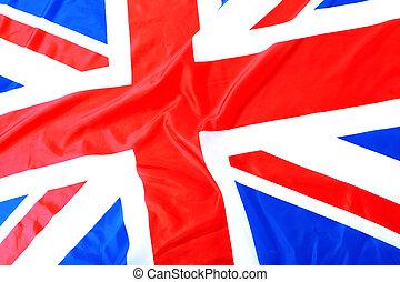 unie, uk, vlag, brits, dommekracht