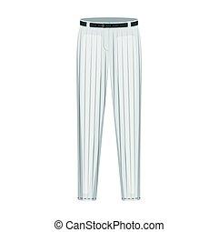 uniform pants baseball baseball single icon in cartoon style vector symbol stock illustration