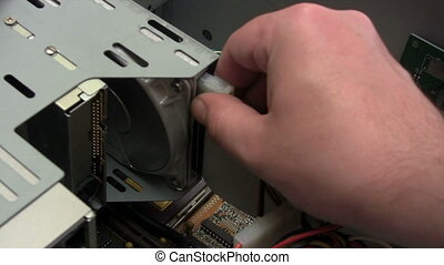 Uninstalling Hard Disk - Canon HV30. HD 16:9 1920 x 1080 @...