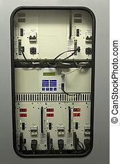 Uninterruptible Power Supply (UPS) equipment in industry.
