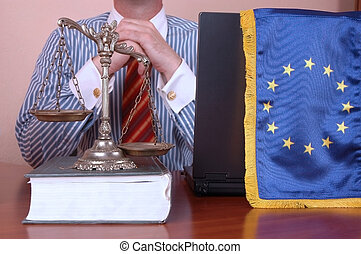 union, avocat, européen