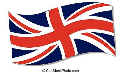 Union Flag Fluttering