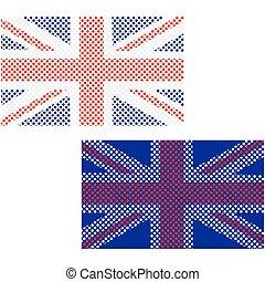 Union Jack balls