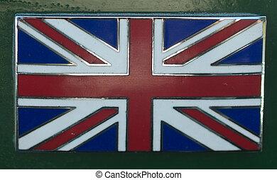 Union Jack Car Badge