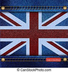 Union Jack denim
