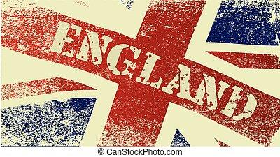 Union Jack England Grunge