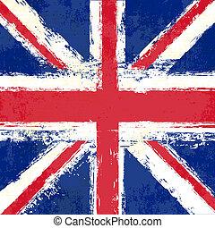 Union Jack - Grunge Flag of the United Kingdom