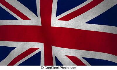 Union Jack Flag (Loop-able)