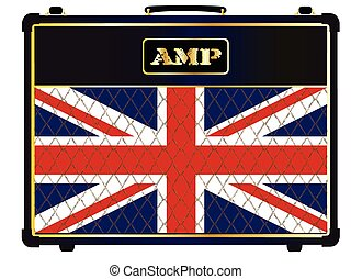 Union Jack Guitar Amplifier