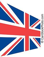 Union Jack isolated vector illustra