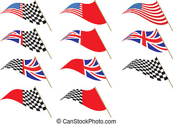 Union Jack, Stars and stripes
