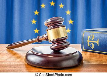 union, -, livre, marteau, droit & loi, européen