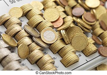 union, pièces, européen