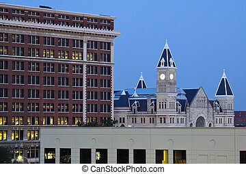 Union Station in downtown of Louisville, Kentucky