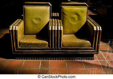 Union station seating