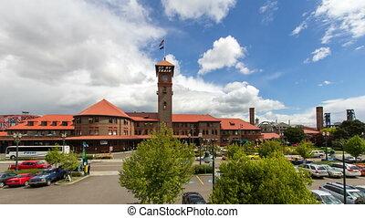 Union Train Station Time Lapse