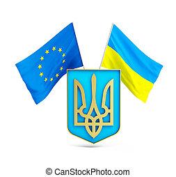 union, ukraine., association, européen