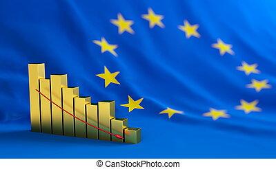 unione, europeo, crisi