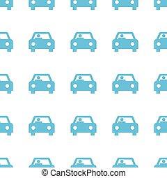 Unique Car seamless pattern