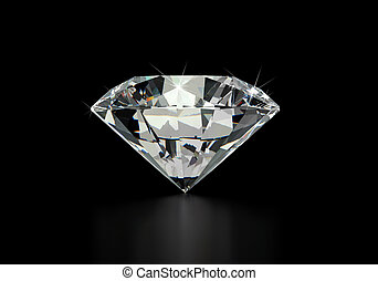 unique, diamant