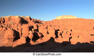 Goblin Valley - Unique eroded rock formation in Goblin...
