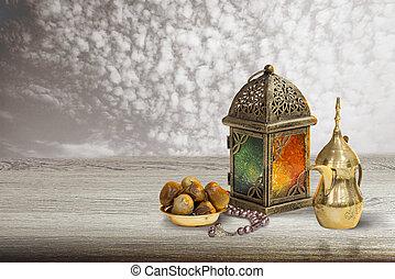 unique lantern greeting card