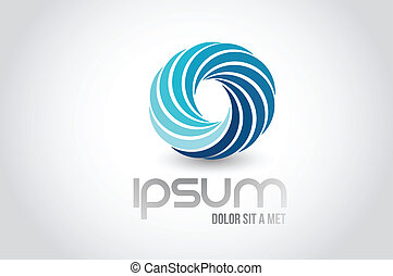 unique logo symbol illustration design