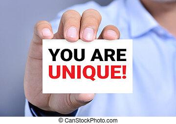 unique, !, message, prise, vous, carte, homme