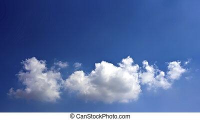 unique, nuage