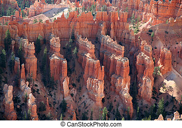 Unique Rock Formations at Bryce Canyon