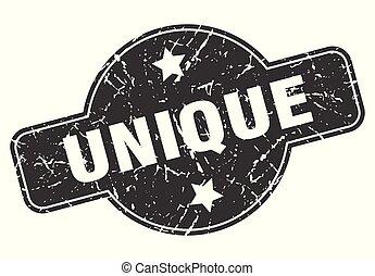 unique round grunge isolated stamp