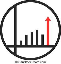 unique round simple success logo