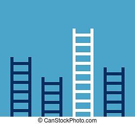 Unique success ladder