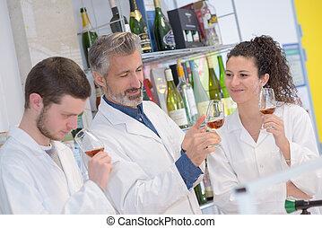 unique, vin, arôme