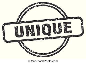 unique vintage stamp. unique sign