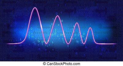 unité centrale traitement, poursuite, ou, binaire, graphique...