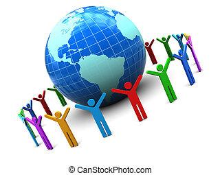 unité, gens