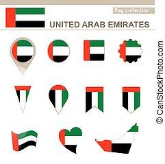 United Arab Emirates Flag Collection