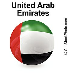 united arab emirates official state flag
