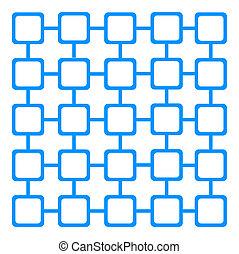 United blue squares