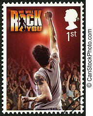 UNITED KINGDOM - 2011: shows We Will Rock You, series...
