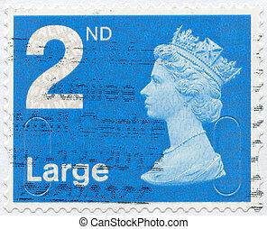 UNITED KINGDOM - 2012: shows Portrait of Queen Elizabeth II...