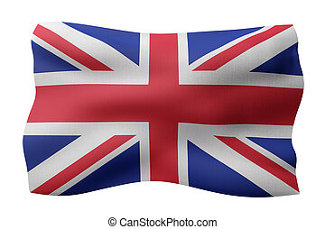 United Kingdom 3d flag