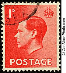 Postage Stamp - UNITED KINGDOM - CIRCA 1936: An English One...
