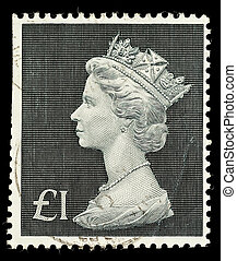 Postage Stamp - UNITED KINGDOM - CIRCA 1970 to 1972: An...