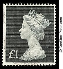 Postage Stamp - UNITED KINGDOM - CIRCA 1970 to 1972: An...