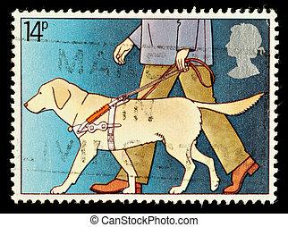 Postage Stamp - UNITED KINGDOM - CIRCA 1981: A British Used...