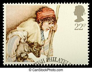 Christmas Postage Stamp