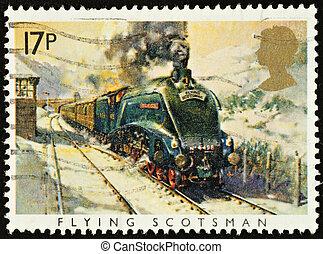 Postage Stamp - UNITED KINGDOM - CIRCA 1985: A British Used...