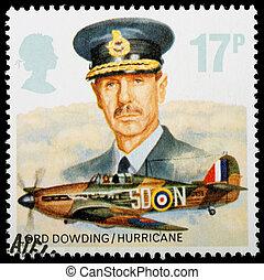 Postage Stamp - UNITED KINGDOM - CIRCA 1986: A British Used...